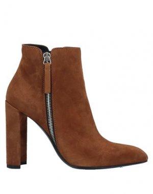 Полусапоги и высокие ботинки PREMIATA. Цвет: коричневый