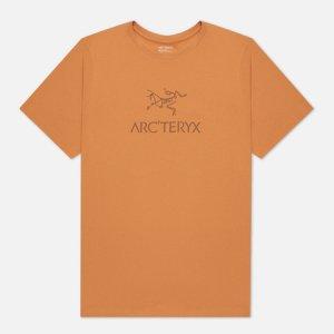 Мужская футболка ArcWord Arcteryx. Цвет: оранжевый