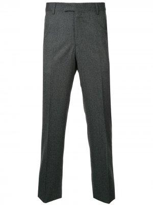 Классические брюки Gieves & Hawkes. Цвет: серый