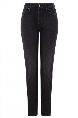 Черные прямые джинсы Acne Studios. Цвет: черный