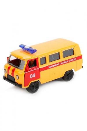 Машина инерционная УАЗ 39625 Технопарк. Цвет: желтый