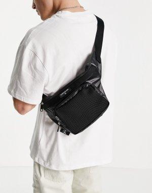 Черная сумка-кошелек на пояс -Черный Calvin Klein Jeans