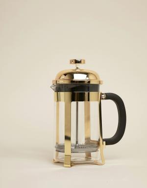 Кофеварка 800 мл с золотистой отделкой by Premier Mimo. Цвет: мульти