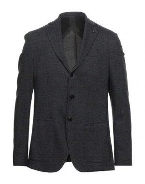 Пиджак SARTORIA LATORRE. Цвет: стальной серый