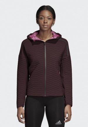 Куртка adidas Z.N.E. JACKET W. Цвет: бордовый