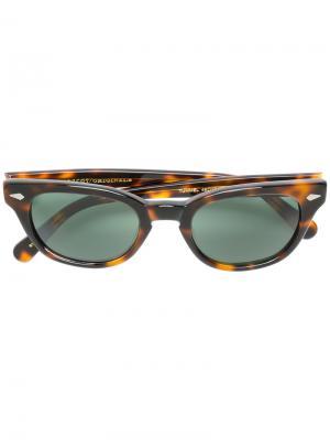Солнцезащитные очки Tummel Moscot. Цвет: коричневый