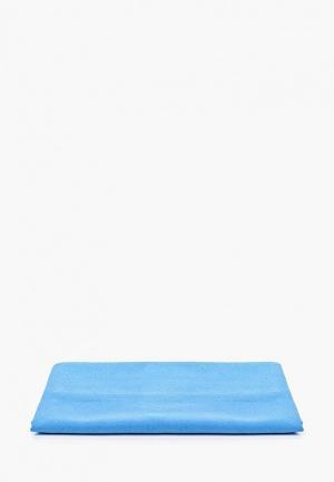 Полотенце MadWave Microfibre Towel. Цвет: голубой