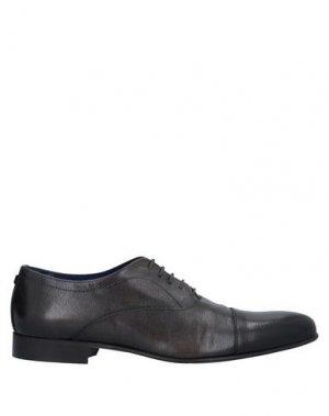 Обувь на шнурках AZZARO. Цвет: темно-коричневый