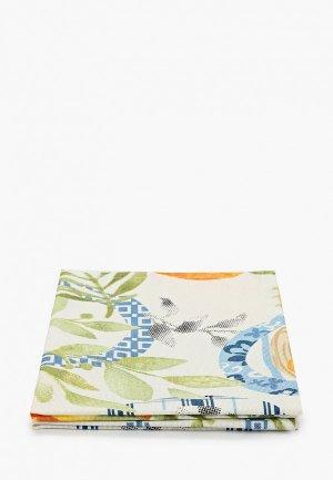 Комплект салфеток сервировочных La Peonia. Цвет: белый