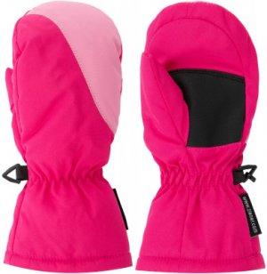 Варежки для девочек , размер 80 Ziener. Цвет: розовый