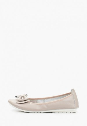 Балетки Zenden Comfort полнота E (5). Цвет: серый