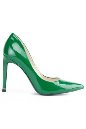 Туфли Gode. Цвет: зеленый