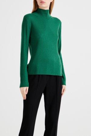 Зеленый пуловер с высокой горловиной Max Mara Studio