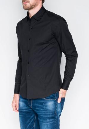 Рубашка Ombre. Цвет: черный