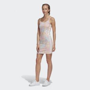 Платье-майка Originals adidas. Цвет: белый