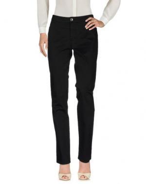 Повседневные брюки DAKS LONDON. Цвет: черный