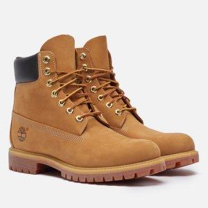 Мужские ботинки 6 Inch Premium Waterproof Timberland. Цвет: коричневый