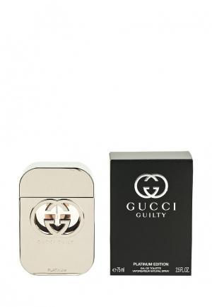 Туалетная вода Gucci Guilty Platinum 75 мл
