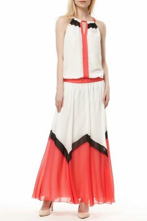 Платье Bovona. Цвет: белый