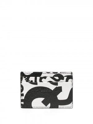 Картхолдер с логотипом Dsquared2. Цвет: черный