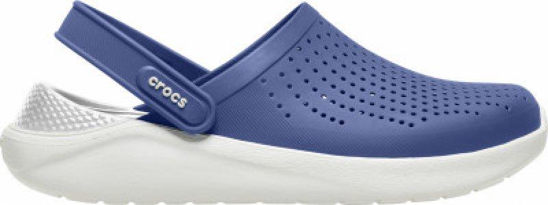 Шлепанцы LiteRide Clog, размер 38-39 Crocs. Цвет: синий