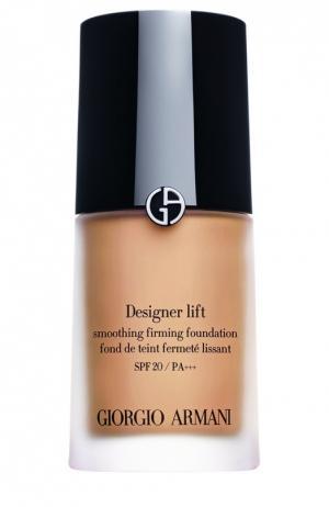 Designer Lift SPF20 тональный крем оттенок 5 Giorgio Armani. Цвет: бесцветный