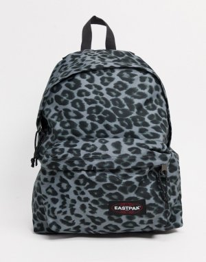Рюкзак на подкладке с серым леопардовым принтом -Мульти Eastpak