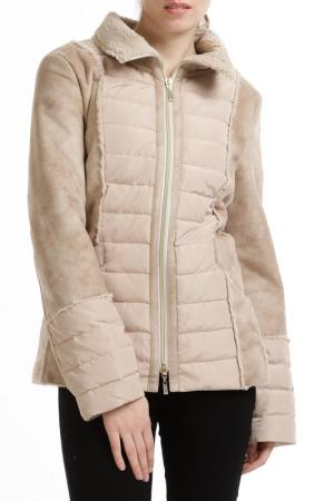 Down jacket Baronia. Цвет: beige