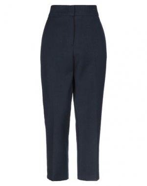 Повседневные брюки BONSUI. Цвет: темно-синий