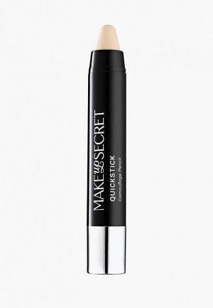 Корректор Make-Up Secret Quickstick Camouflage, 3,8 г, MILK. Цвет: разноцветный