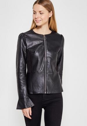 Куртка кожаная You&You YO005EWZXB31. Цвет: черный