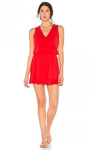 Платье Bobi. Цвет: красный