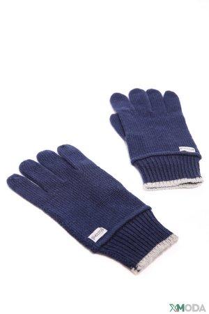 Перчатки Pezzo. Цвет: синий