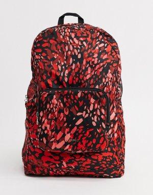 Рюкзак с леопардовым принтом Swift-Мульти Fiorelli