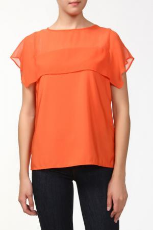 Блузка Sabra. Цвет: оранжевый