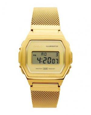 Наручные часы CASIO. Цвет: золотистый