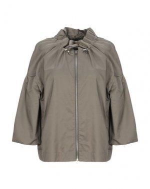 Легкое пальто KAOS JEANS. Цвет: зеленый-милитари