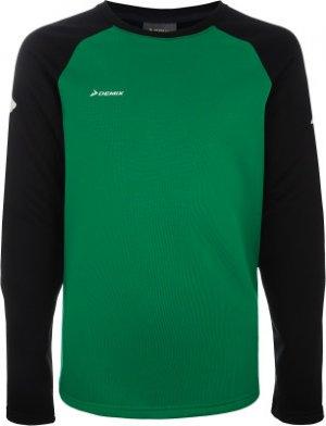 Джемпер футбольный для мальчиков , размер 164 Demix. Цвет: зеленый