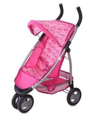 Коляска игрушечная bertoni mimi. Цвет: розовый