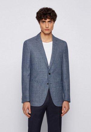 Пиджак Boss Haylon. Цвет: синий