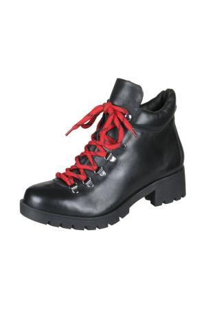 Ботинки Bottero. Цвет: черный, красный