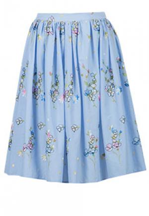 Юбка BLUGIRL. Цвет: голубой