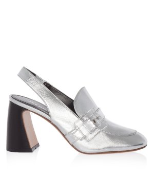 Туфли M4763 36 серебристый Premiata. Цвет: серебристый