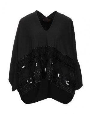 Блузка JO NO FUI. Цвет: черный