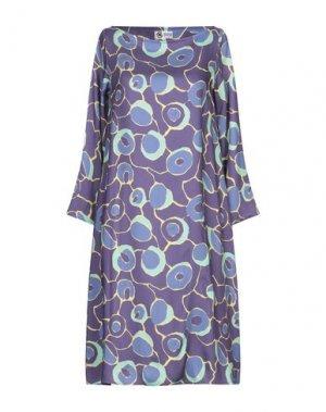 Платье до колена BINI Como. Цвет: фиолетовый