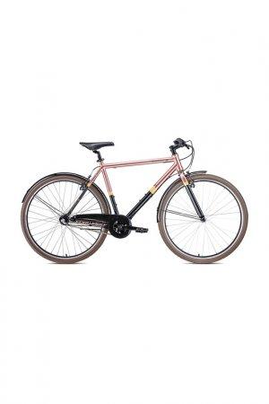 Велосипед ROCKFORD 28 2020 Forward. Цвет: черный, коричневый