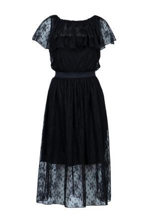 Платье Blugirl. Цвет: черный