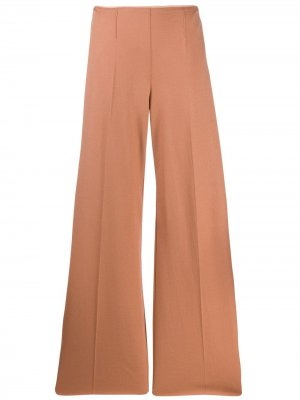 Расклешенные брюки Cameo Forte. Цвет: оранжевый