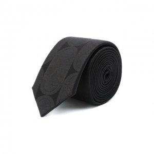 Шелковый галстук Dolce & Gabbana. Цвет: чёрный