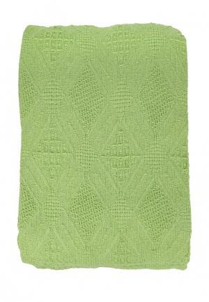 Покрывало Arloni 220х180. Цвет: зеленый